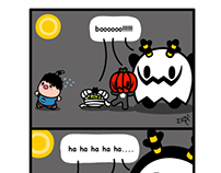 Monster Little comic - halloween....
