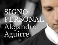 Signo Personal / Alejandro Aguirre