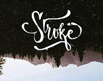 Lettering : Stroke