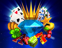 King Diamonds Game logo