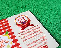 Convite e Decoração de Festa Infantil | Picnic