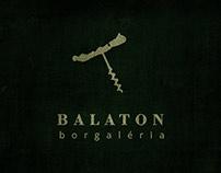 Balaton Wine Gallery - logo redesign