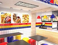 Frito Fries Store Design