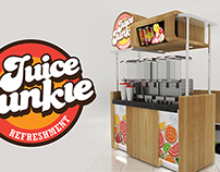 Juice Junky Kiosk Design