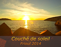 Time lapse sunset Frioul 2014