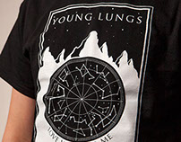 """Young Lungs"" band shirt"