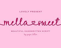 Free Mella Sweet Script Font