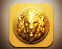Lion IOS icon