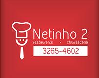 Logomarca Netinho 2 - Restaurante e Churrascaria