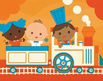 Babies on a Train