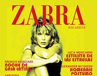 Zabra Magazzine - Diseño de Revista Online