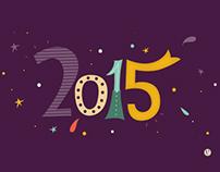 Lettering // Agendas 2015