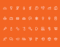 FreshDirect Web Icons