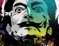 Salvadore Dali Poster