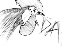 Rooster - sketch