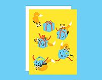 FIESTA! – Renards cadeaux / Foxes GIFT