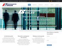 Sitio bilingüe Asensors Sales de España