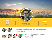 Jott.ly app Android Layout