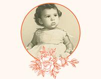 Conchita Ortega's 60th Birthday Invitation