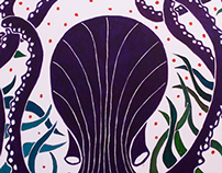 Octopus Ink Table Top