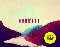 Vampirr - free font