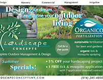 Digital Ad: Landscape Concepts & Organico