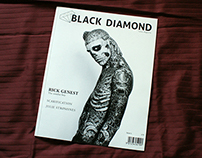 Black Diamond Tattoo Magazine - a fictive magazine