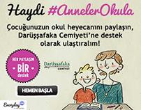 #AnnelerOkula