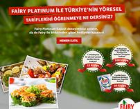 Fairy Platinum ile Türkiye'nin Yöresel Tarifleri