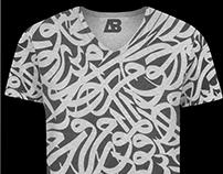 Design T-shirt Arabic