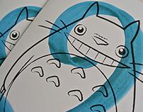 Totoro Birthday Card