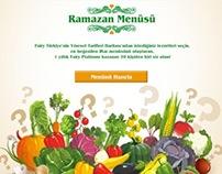 Ramadan Menüsü
