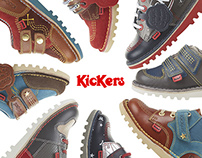 Kickers AW14 kids and infant boys range
