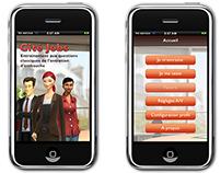 Cité Jobs Mobile E-learning project - UI design