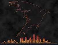 Student Work: Movie Poster--The Crow