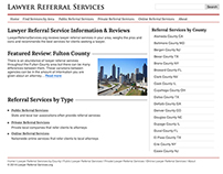 Website Visual Improvement - Lawyer Referral Services