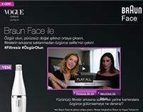 Braun Face ile #filtresiz #özgürolun