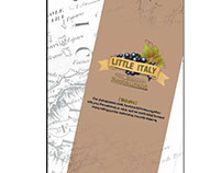 Little Italy (menu design) - GDUSA award