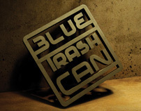 BLUE TRASH CAN - Visual Identity and EP Record