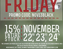 2013 Beat Black Friday Ad Campaign