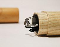Wooden Glasses Case