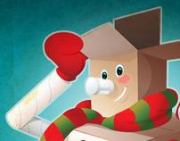 UPS Stores Snowman