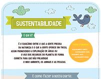 Trabalho acadêmico- Infográfico/ Sustentabilidade