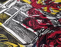 Colour Linocut
