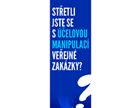 TRANSPARENCY INTERNATIONAL ČR - Web Advertisement
