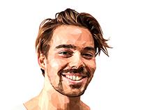 TalonX - Polygonal Portraits