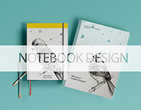 Bird Illustration & Notebook Design