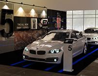 BMW 5 Series showroom kit