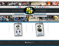 Racing Radios E-Commerce Site
