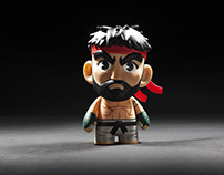 """Hot Ryu"" figure - Street Fighter 5"